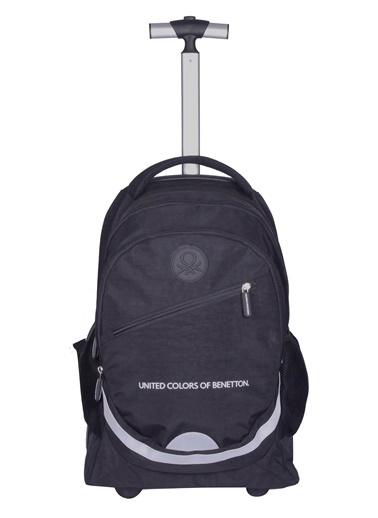 012 Benetton Okul Çantası Siyah